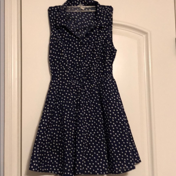 Heritage 1981 Dresses & Skirts - Navy/Polka Dot dress